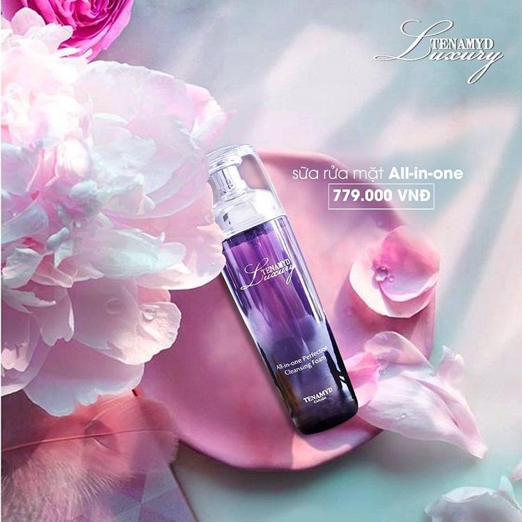 Sữa rửa mặt đa năng All- in-one Perfection Cleansing Foam Luxury Tenamyd