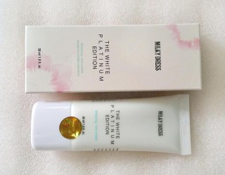 Kem làm trắng da  Milky Dress The White Platimun Edition 30ml